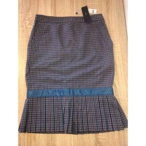 Marc Jacobs | NWT plaid pencil skirt~bow detail